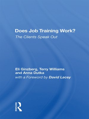 cover image of Does Job Training Work?