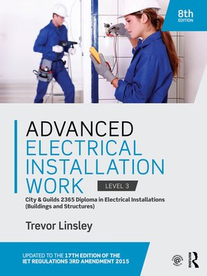 cover image of Advanced Electrical Installation Work 2365 Edition