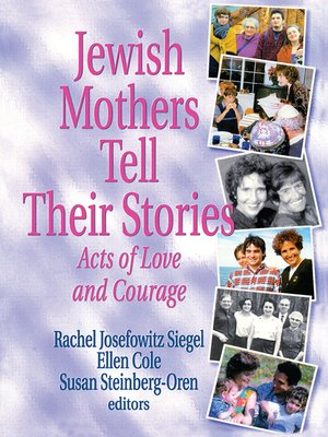 cover image of Jewish Mothers Tell Their Stories