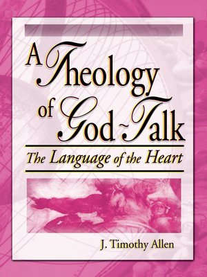 cover image of A Theology of God-Talk