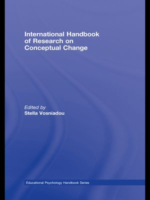 cover image of International Handbook of Research on Conceptual Change