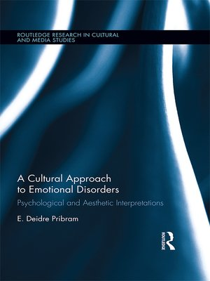 cover image of A Cultural Approach to Emotional Disorders