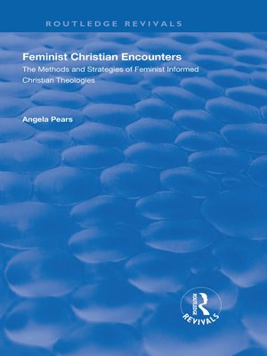 cover image of Feminist Christian Encounters