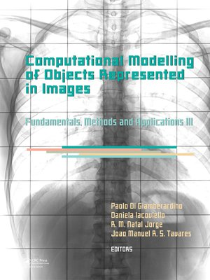cover image of Computational Modelling of Objects Represented in Images III