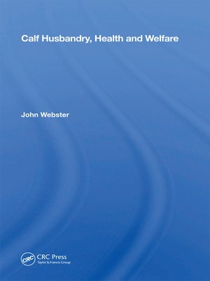 cover image of Calf Husbandry, Health and Welfare