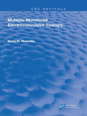 cover image of Multiple-Monitored Electroconvulsive Therapy