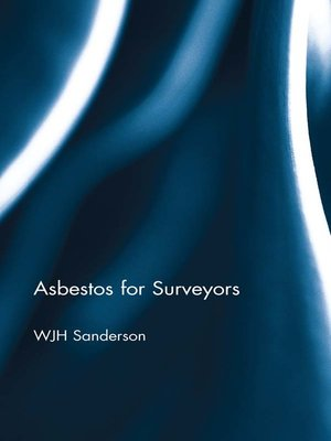 cover image of Asbestos for Surveyors