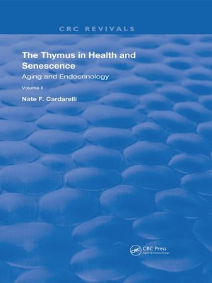 cover image of The Thymus in Health and Senescence