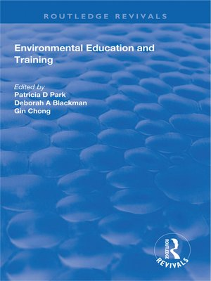 cover image of Environmental Education and Training