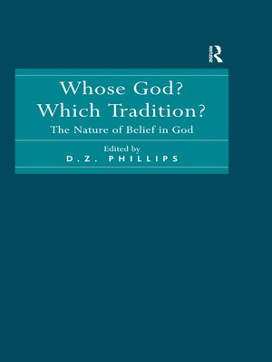 cover image of Whose God? Which Tradition?