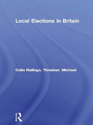 cover image of Local Elections in Britain