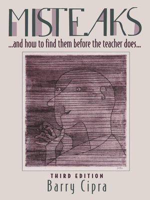 cover image of Misteaks. . . and how to find them before the teacher does. . .