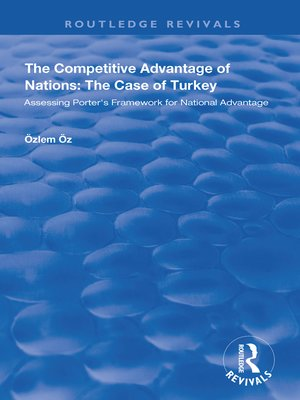 cover image of The Competitive Advantage of Nations