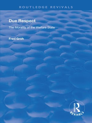 cover image of Due Respect