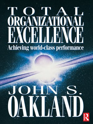 cover image of Total Organizational Excellence