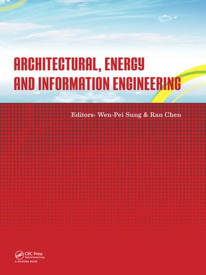cover image of Architectural, Energy and Information Engineering