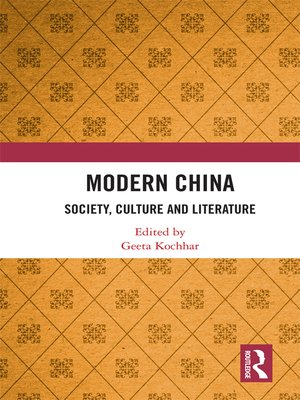 cover image of Modern China