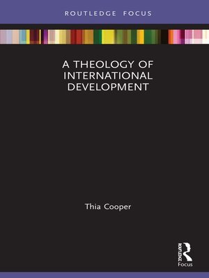cover image of A Theology of International Development