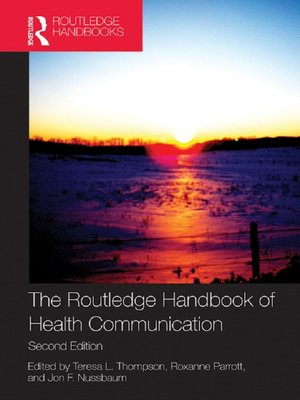 cover image of The Routledge Handbook of Health Communication