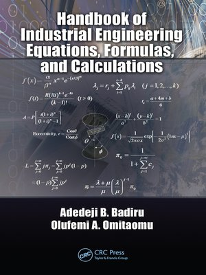 cover image of Handbook of Industrial Engineering Equations, Formulas, and Calculations
