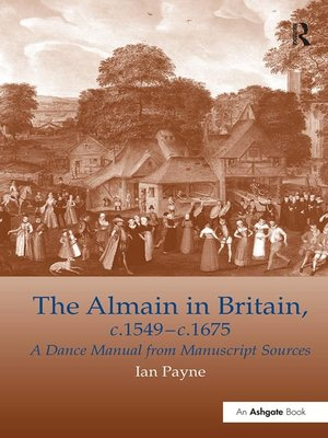 cover image of The Almain in Britain, c.1549-c.1675