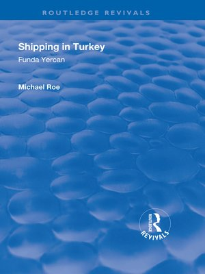 cover image of Shipping in Turkey