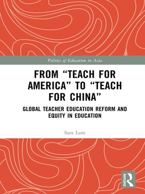 """cover image of From """"Teach For America"""" to """"Teach For China"""""""