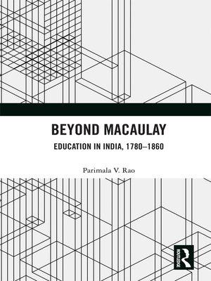 cover image of Beyond Macaulay