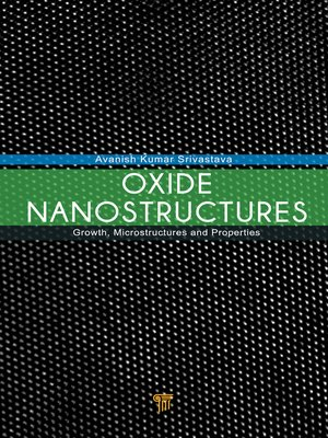 cover image of Oxide Nanostructures