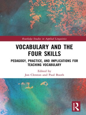 cover image of Vocabulary and the Four Skills
