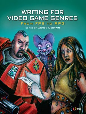 cover image of Writing for Video Game Genres