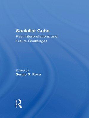 cover image of Socialist Cuba