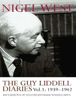 cover image of The Guy Liddell Diaries, Volume I