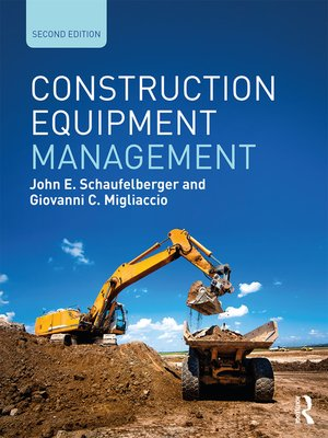 cover image of Construction Equipment Management