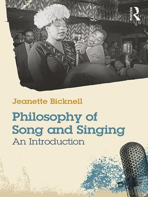cover image of A Philosophy of Song and Singing
