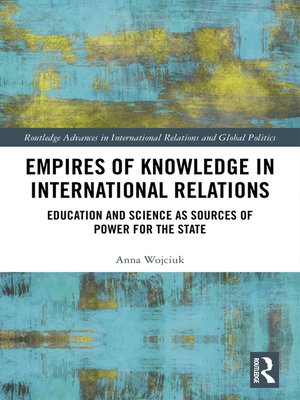 cover image of Empires of Knowledge in International Relations