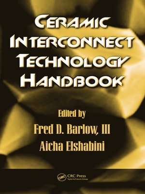 cover image of Ceramic Interconnect Technology Handbook