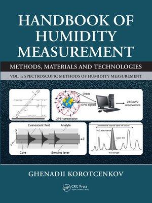 cover image of Handbook of Humidity Measurement, Volume 1