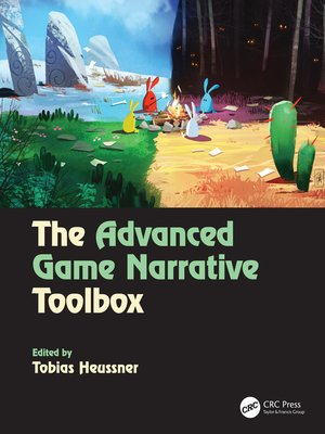 cover image of The Advanced Game Narrative Toolbox