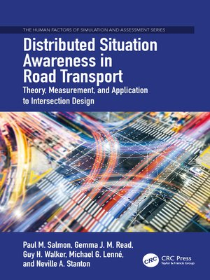 cover image of Distributed Situation Awareness in Road Transport