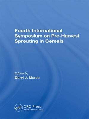 cover image of Fourth International Symposium On Pre-harvest Sprouting In Cereals