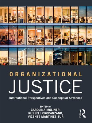cover image of Organizational Justice