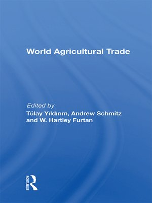 cover image of World Agricultural Trade