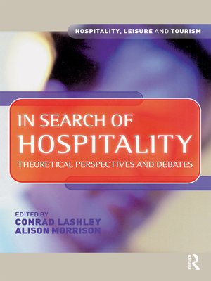cover image of In Search of Hospitality