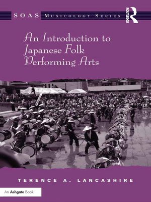 cover image of An Introduction to Japanese Folk Performing Arts
