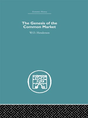 cover image of Genesis of the Common Market