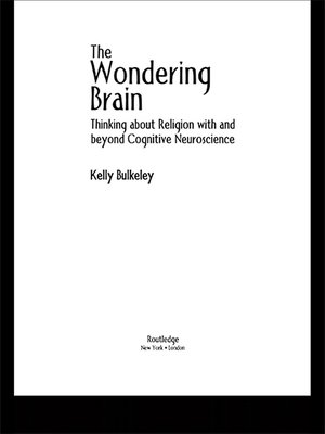 cover image of The Wondering Brain