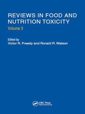 cover image of Reviews in Food and Nutrition Toxicity, Volume 3