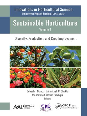 cover image of Sustainable Horticulture, Volume 1