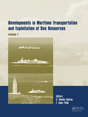cover image of Developments in Maritime Transportation and Exploitation of Sea Resources
